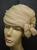FANCY  ORGANDY LADIES HAT - by GEORGETTE