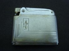 40's RONSON LIGHTER - ADONIS - MD Initials