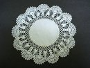 VICTORIAN  HAND MADE LACE DOILY