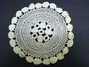 INTRICATE VICTORIAN  HAND MADE LACE DOILY