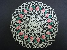 PRETTY - HAND MADE - CROCHET LACE DOILY
