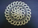 UNUSUAL  - HAND MADE - CROCHET LACE DOILY