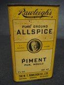RAWLIGH's ALLSPICE TIN - PIMENT