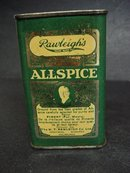 RAWLIGH's ALLSPICE TIN - PIMENT - GREEN