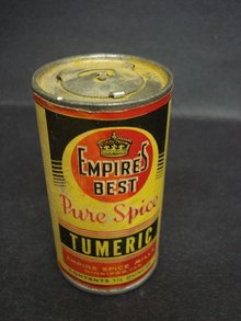 EMPIRE's BEST PURE SPICE - TIN - TUMERIC