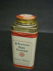 OLDER JOHNSON's BABY POWDER TIN