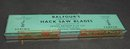 ENGLISH BALFOUR's HACK SAW BLADES - TIN BOX