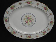 ROYAL ALBERT PETIT POINT LARGE OVAL PLATTER