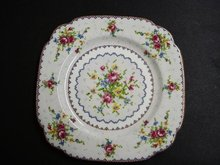 ROYAL ALBERT PETIT POINT - 6 1/2  inch PLATE #4