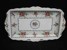 ROYAL ALBERT PETIT POINT SANDWICH TRAY #2