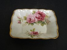 ROYAL ALBERT CHINA AMERICAN BEAUTY DISH #1