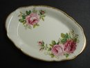 ROYAL ALBERT AMERICAN BEAUTY - OVAL TRAY