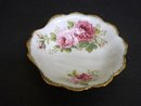 ROYAL ALBERT SHELL DISH  - AMERICAN BEAUTY