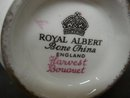ROYAL ALBERT CREAM/SUGAR HARVEST BOUQUET