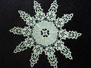 Vintage Hand Crochet Lace Doily