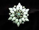 IRIDESCENT Large Rhinestone  - BROOCH
