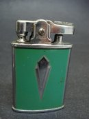 ART DECO RONSON LIGHTER - BANKER