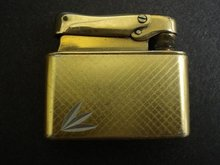 DECO GOLD TONE LIGHTER - COLIBRI - MONOPOL