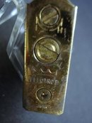 ELEGANT GOLD TONE LIGHTER - ELECTRO II
