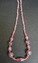 VENETIAN ART GLASS STYLE BEADS - NECKLACE