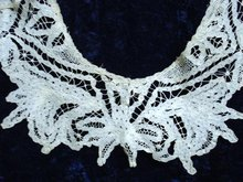 SUPERIOR VICTORIAN TAPE LACE COLLAR