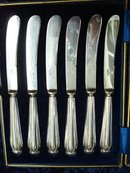 R. RICHARSON STERLING KNIVES from SHEFFIELD