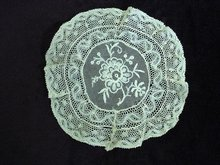 FINEST VICTORIAN TAMBOUR LACE DOILY