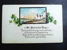 LOVELY - ST PATRICK's DAY POSTCARD