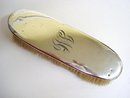 BIRKS  STERLING  CLOTHES BRUSH - MONOGRAM