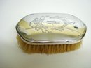 LOVELY BIRKS STERLING  BRUSH - MONOGRAM