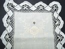BEAUTIFUL ANTIQUE RUNNER - EMBROIDERY/LACE