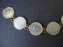 EARLY 1900's BRITISH COIN BRACELET