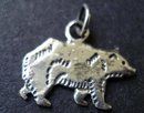 OLD STERLING CHARM - DETAILED BEAR