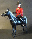 CANADIAN PATROL - MOUNTIE & HORSE FIGURES