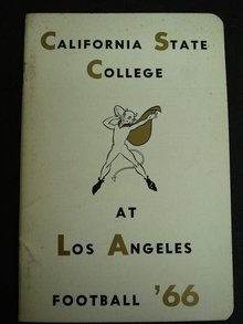 Los Angeles State Football Media Guide 66