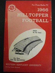 West Kentucky Football Media Guide 1966
