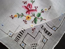 Exquisite PETIT POINT EMBROIDERY&DRAWNWORK