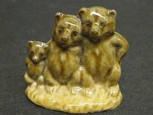 Original Vintage Wade Figurine from Red Rose Tea Figurine-Three Bears