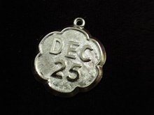 LOVELY STERLING BRACELET CHARM - DEC 25