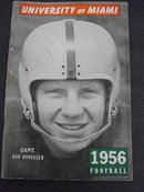 UNIVERSITY-MIAMI FOOTBALL MEDIA GUIDE 1956