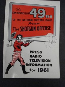 SAN FRANCISCO 49ers FOOTBALL  GUIDE 1961