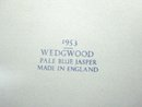 WEDGWOOD JASPERWARE 1953 ROYALTY BOX