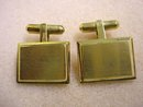 QUALITY STERLING SILVER & GOLD PLATE CUFFLINKS