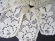 UNCOMMON HAND CROCHET LACE TRIM