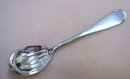 ANTIQUE SILVER PLATED  SUGAR SPOON
