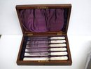 DINNER KNIVES - VICTORIAN  BOXED SET of 6
