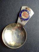 R.M.S. SCYTHIA TEA CADDY SPOON