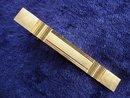 TIE CLIP - ART DECO STYLE  GOLD TONE