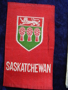 CIGARETTE SILK  SHIELD OF SASKETCHEWAN