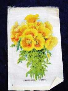 CIGARETTE SILK CALIFORNIA POPPY